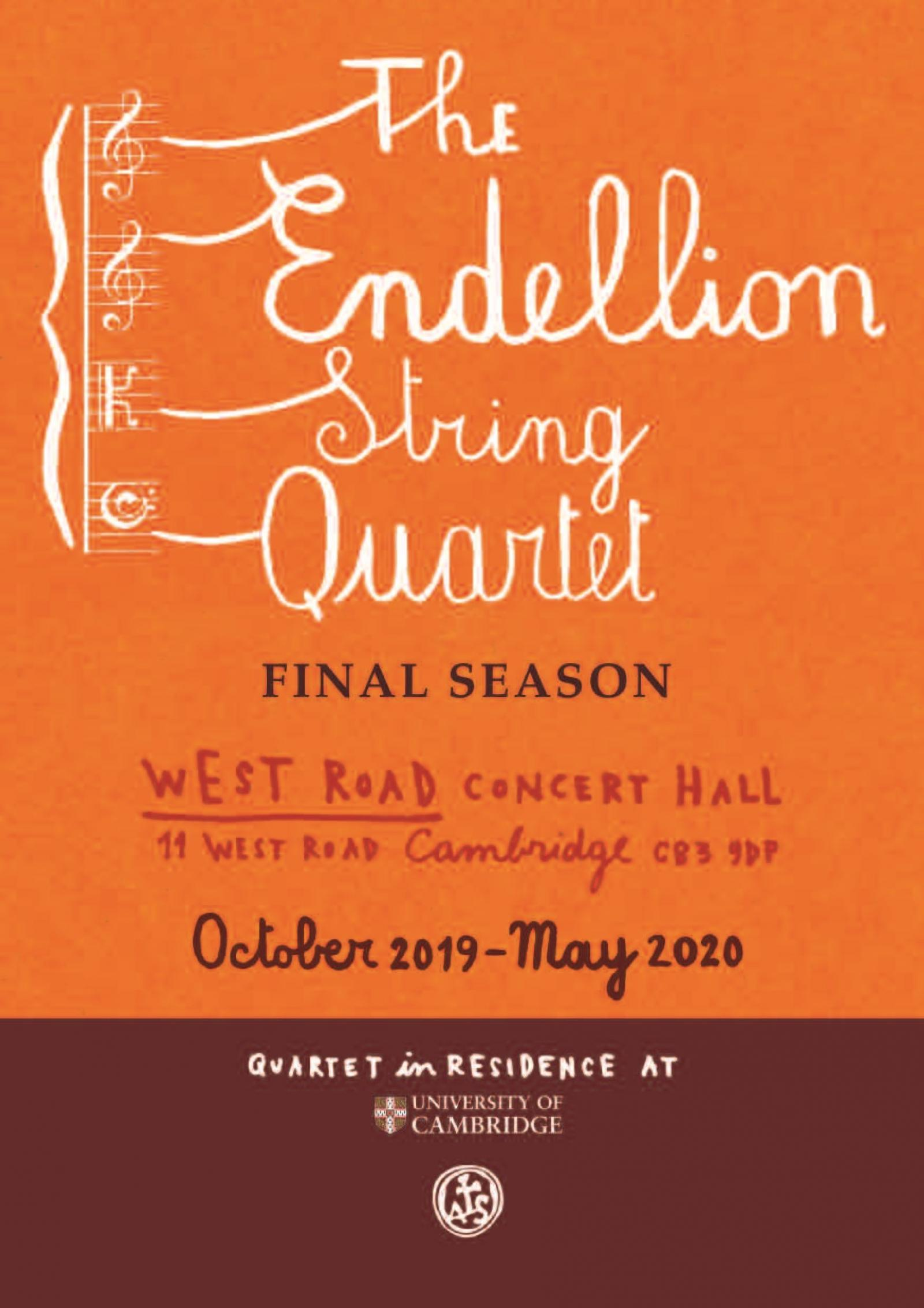 ENDELLION STRING QUARTET - 23/10/19 | Cambridge Live